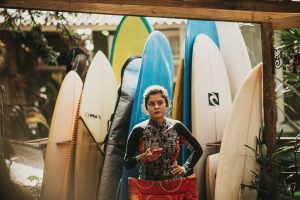 Pranchas do surf camp