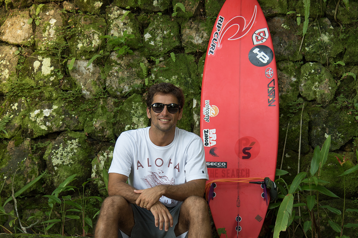 Bruno Santos atleta Welcome Surf Trips